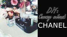 Neat DIY Chanel tray & vase