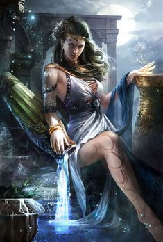 Nemesis, Greek Goddess of human fate. To meet her is to be absolutely tested.