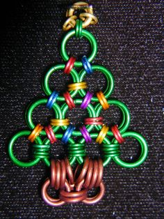 Chainmaille Christmas Tree