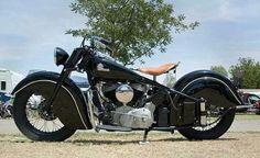 Nice Indian Motorcycle! Vintage Motorcycle, Antique Motorcycle, Indian Motorcycle!