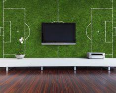 Stylish Soccer Themed Bedroom Design For Boys (13)