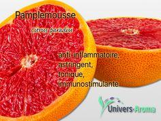 Une note délicieuse en huile essentielle, l'huile essentielle de pamplemousse vous transportera, en mélange avec d'autres de la même famille. Zoom, Grapefruit, Universe