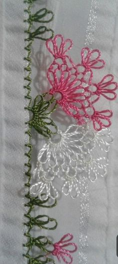 Thread Art, Needle And Thread, Knit Shoes, Needle Lace, Bargello, Knitted Shawls, Knitting Socks, Fabric Flowers, Hand Embroidery