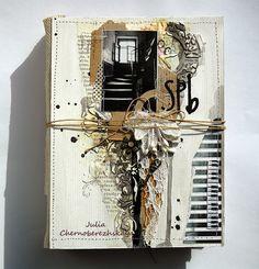 Творчество как вид счастья: Обложка и сборка альбома про Санкт-Петербург. СП в блоге Скрапполис.
