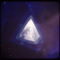 Mystical spinning pyramid! (animated gif) (look at it. It's cool)