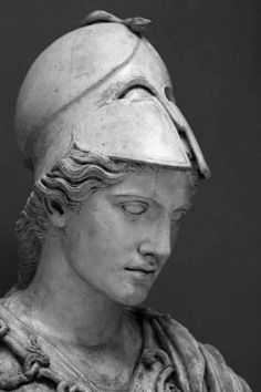 My beautiful Goddess, Athena. She encourages my strength, she gives me wisdom and she forces me to seek and create opportunities. All hail! Ancient Greek Sculpture, Greek Statues, Ancient Art, Wie Zeichnet Man Manga, Athena Goddess, Roman Sculpture, Art Antique, Roman Art, Greek Art
