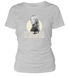 The Big Bang Theory Ladies T-Shirt Penny From The Gym
