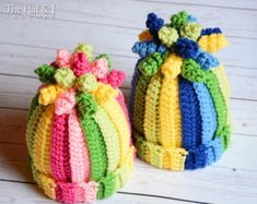 CROCHET PATTERN Spring Fling crochet hat pattern by TheHatandI
