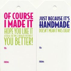 Knitterella Gift Tags (Humor Set 1 or 2): $3.90