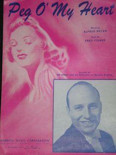 Vintage Sheet music/ Vintage 1913 Sheet by HoodooVoodooVintage