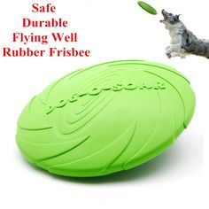 Eco Friendly Natural Rubber Dog Frisbee - Size 15cm / 18cm / 22cm     Tag a friend who would love this!     FREE Shipping Worldwide     Buy one here---> https://sheebapets.com/eco-friendly-pet-product-natural-rubber-material-pet-dog-toy-frisbee-dog-training/