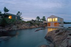 Wish of a life time to live somewhere like this .... Floating House / MOS Architects