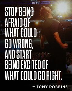It's time to Step Up Take Massive Action & Realize your Dreams! by tonyrobbins