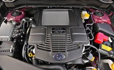 2014 Subaru Forester engine photo
