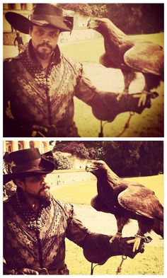The Musketeers - Posted on Howie Charles Instagram, 28th April 2014