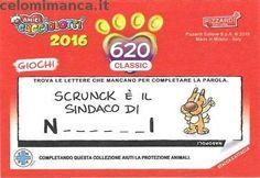 Amici Cucciolotti 2016: Retro Figurina n. 620 -