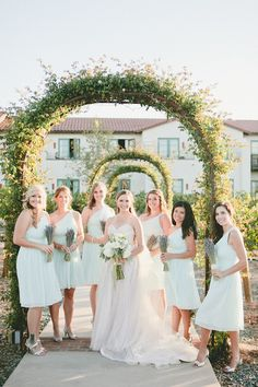 Bridesmaids in Blue   One Love Photography   Bridal Musings Wedding Blog 47