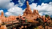 Big Thunder Mountain Railroad® (Magic Kingdom® Park, Frontierland®. Guests Must Be 40in or taller. Streak through a haunted gold-mining town aboard a rollicking runaway mine train).