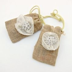 Learn how to make these pretty little bags, perfect for party favors and gift giving,