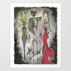Mr.Fett Art Print by Jena Sinclair - $20.00