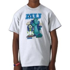 Mike and Sulley MU Tshirts ~ Disney's Monsters University