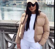 Pocketed Puffer Jacket – Hopikas Casual Coats For Women, Argyle Sweater Vest, Black Winter Coat, Parka Style, Womens Parka, Puffy Jacket, Winter Jackets Women, Streetwear Fashion, Bubble