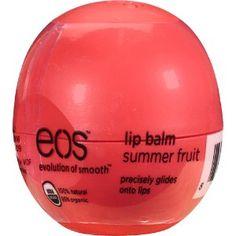 eco lip balm egg | Brand NEW EOS** Summer Fruit Lip Balm Egg. Unopened! Organic/Natural!!