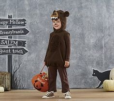 Shop toddler Halloween costumes at Pottery Barn Kids. Find cute and cool Halloween costumes that are easy to put on and comfortable to trick or treat in. Toddler Bear Costume, Scary Toddler Costumes, Teddy Bear Costume, Halloween Costumes For Kids, Halloween 2017, Halloween Stuff, Family Costumes, Diy Costumes, Costume Ideas