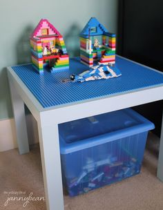 Lego Storage Ideas - Table storage unit