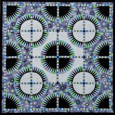 Black Beauty quilt by Jacqueline de Jonge | Be Colourful