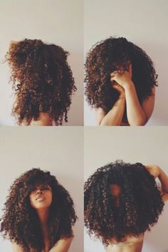 Life goals... I can't wait until my hair gets this long!!! I've got this same texture