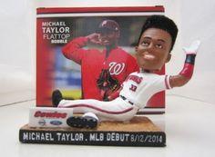 #baseball Michael A Taylor Flattop Bobblehead P-Nats Washington Nationals MLB SGA NEW #WashingtonNationals