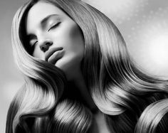 Foto de cabelo em preto e branco #PB #BW