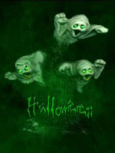 halloween ghosts Mobile Screensavers available for free download.