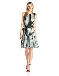 SL Fashions Womens Sl Lace Dress with Satin Strapping SageBlack 14 ** Check out the image by visiting the link. (This is an affiliate link) #Lacedresses
