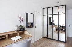 «Noir industriel» 65m² Buttes Chaumont – Bän Architecture Renovation D, Foyer, Kitchen Design, House Design, Architecture, Inspiration, Furniture, Home Decor, Inspirer