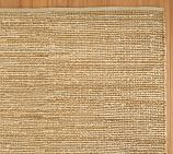 Heathered Chenille Jute Rug Swatch, Natural from Pottery Barn
