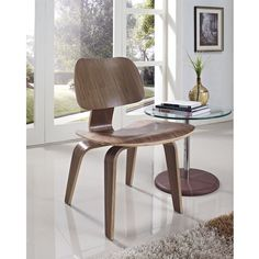 Eames plywood dining chair wood legs