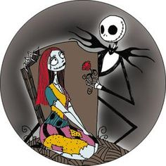 nightmare before christmas jack and sally image