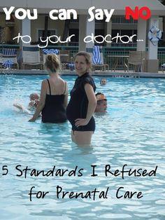 5 Standards I Refused for Prenatal Care