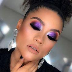 Dance Makeup, Prom Makeup, Hair Makeup, Purple Makeup Looks, Purple Eye Makeup, Makeup Inspo, Makeup Tips, Makeup Ideas, Makeup Looks Tutorial