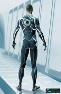 Concept art from Ed Navidad for Tron