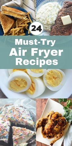 Did you just get an air fryer as a gift or for Christmas? Check out these 24 Must-Try Air Fryer Recipes. Air Fryer Recipes | Air Fryer Recipes Healthy #airfryer #airfryerrecipes