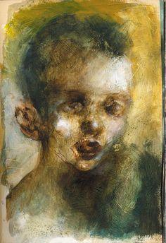 Bambini: azione di teatro, pittura e luce / dipinti di Davide Reviati / Di e con Elena Bucci - Le Belle Bandiere