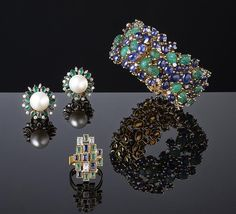 Art Antiques London is an extraordinary chance to see - and buy - groundbreaking jewels by the late Andrew Grima, plus later works by his wife and daughter.