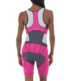 2XU Women's Compression Trisuit at SwimOutlet.com --> really really pretty. Would be perfect colors together with my tribike :D  (I wish there was a bit less at the shoulders though)