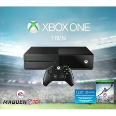 -\*BRAND NEW*/- Microsoft - Xbox One 1TB Madden NFL 16 Bundle - Black #Microsoft