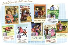 share the classic Little House on the Prairie books with your children—a wonderful read-aloud, bedtime storybook series