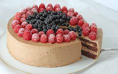 Bløtkake_med_sjokoladekrem Norwegian Food, Norwegian Recipes, No Bake Cake, Food Inspiration, Chocolate Cake, Cravings, Cake Recipes, Cheesecake, Food And Drink