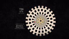 Optikammer – Faraday's Wheel  #digitalmedia #design #experiment #minimalist #photography #cinema #animation #games #historical